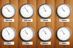 Circadian Rhythm - Time Zones
