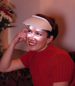 Circadian rhythm corrected with light therapy