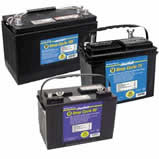 Deep cycle marine-batteries