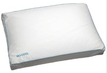 Side Sleeper Pillow Sleep Better Iso-Cool Memory Foam Pillow 1