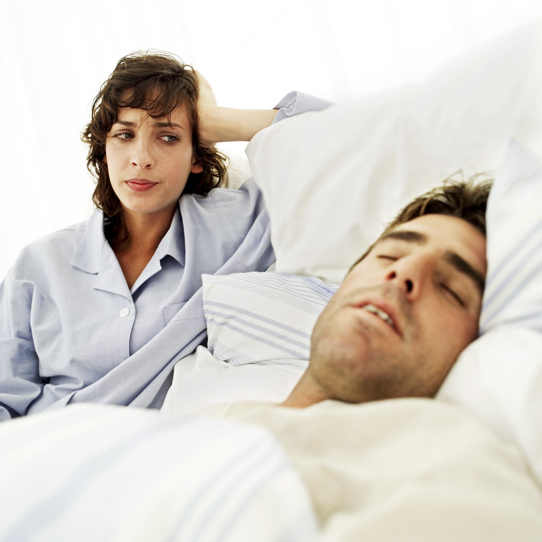 Central sleep apnea and snoring