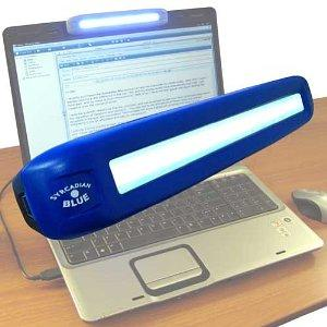 Syrcadian Blue Light Therapy Device for SAD Image 1