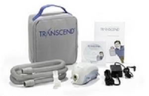 Transcend 2 Travel CPAP Machine Package