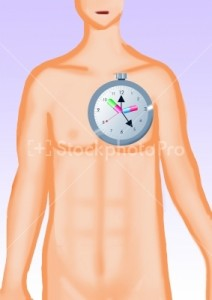 How to Undergo Chronotherapy human body with a clock ticking