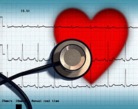 Novel Therapy Can it Cure Central Sleep Apnea ECG of human heart
