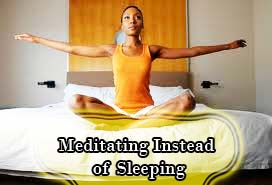Meditation could cause sleep disorders as it keeps the brain active when it should be resting