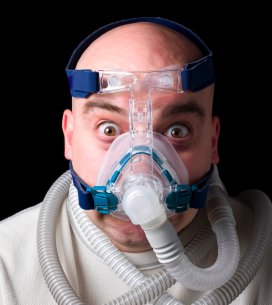 Living with the CPAP mask takes Time, Effort and Determination