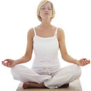 Relaxation Techniques as a Natural Remedy for Insomnia woman meditating